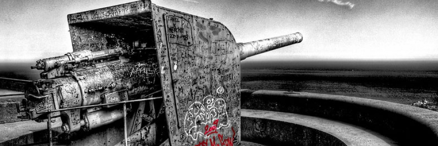 Graffiti affected by war
