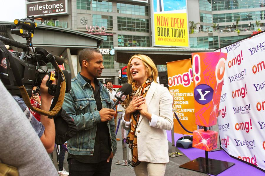 E Canada interviews Cat Deeley