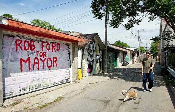 Rob Ford Inspired Graffiti