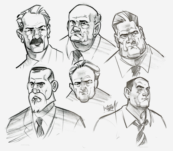 Archild Detectives Sketches