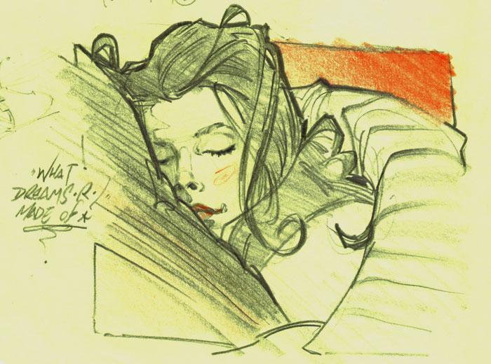 Artchild Sketch Boodreams