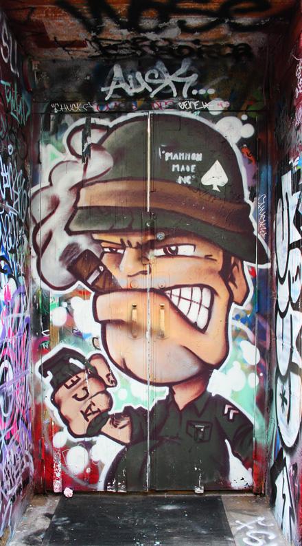 Graffiti Army Character