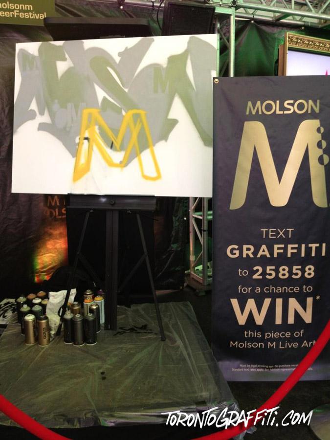 Sonz1 Molson Toronto Graffiti
